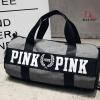 กระเป๋าแฟชั่นนำเข้า ด้านหน้าสกรีน PINK BAI-276-GRY (สีเทา)