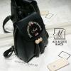 กระเป๋าสะพายเป้กระเป๋าถือ เป้แฟชั่นนำเข้าดีไซน์สุดน่ารัก AXI-A12315-BLK (สีดำ)