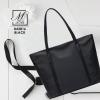 กระเป๋าสะพายกระเป๋าถือ แฟชั่นนำเข้าแบบเรียบสุด cool B43816-BLK (สีดำ)