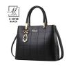 กระเป๋าสะพายกระเป๋าถือ แฟชั่นนำเข้าดีไซน์เรียบหรู แบรนด์ BEIBAOBAO แท้ B-40908-BLK (สีดำ)