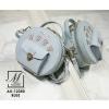 กระเป๋าสะพายกระเป๋าถือ แฟชั่นนำเข้าทรงกลม AX-12350-BLU [สีน้ำเงิน]