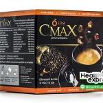 S.O.M. CMax Coffee เอส โอ เอ็ม ซีแม็กซ์ คอฟฟี่ บรรจุ 12 ซอง