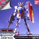 *LIMITED* PG RX-78-2 GUNDAM CHROME PLATED VER.