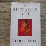 A Suitable Boy (Hardback) By Vikram Seth 1}349 Pages ราคา 250