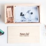 +++ กล่องไม้ ของขวัญแทนความรู้สึกดีๆ +++ เก็บรูปภาพความทรงจำ ไฟล์ต่างๆ และ สิ่งของที่ชอบ