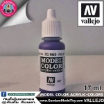 VALLEJO MODEL COLOR VIOLET 70.960
