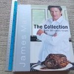 The Collection With 300 Classic Recipes (By James Martin) Hardback 400 Pages ราคา 350