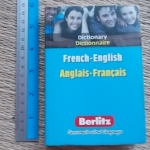 French-English/ Anglais-Francais Dictionary (Berlitz) Paperback 333 Pages ราคา 150