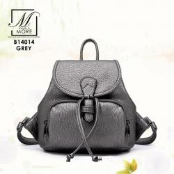 กระเป๋าเป้แฟชั่นนำเข้าสุดเก๋ส์ B14014-GRY (สีเทา)