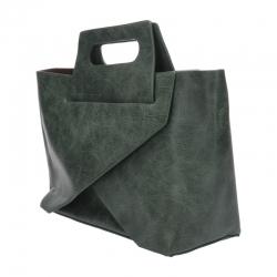 กระเป๋าสะพายแฟชั่น กระเป๋าสะพายข้างผู้หญิง New Design [สีเขียว]