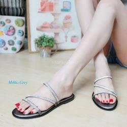 พร้อมส่ง รองเท้าแตะผู้หญิง M1860-GRY [สีเทา]