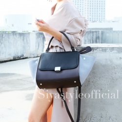 กระเป๋าสะพายแฟชั่น กระเป๋าสะพายข้างผู้หญิง Days bag [สีเทา]