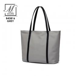 กระเป๋าสะพายกระเป๋าถือ แฟชั่นนำเข้าแบบเรียบสุด cool B43816-GRY (สีเทา)