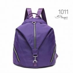 พร้อมส่ง กระเป๋าเป้ผู้หญิงสไตล์ญี่ปุ่น-1011 [สีม่วง]
