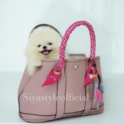 กระเป๋าสะพายแฟชั่น กระเป๋าสะพายข้างผู้หญิง Garden Bag [สีชมพู]