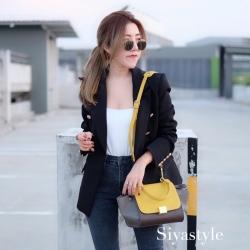 พร้อมส่ง กระเป๋าสะพายข้างผู้หญิง Mini Days Bag [สีเหลือง]