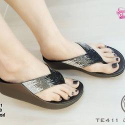 พร้อมส่ง รองเท้าสุขภาพ fitflop TE411-GRA [สีเทา]