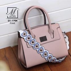 กระเป๋าสะพายกระเป๋าถือ แบบขายดี๊ดี SY-1704-PNK (สีชมพู)