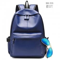พร้อมส่ง กระเป๋าเป้ผู้ชายหนังนิ่ม-BAG-015 [สีน้ำตาล]