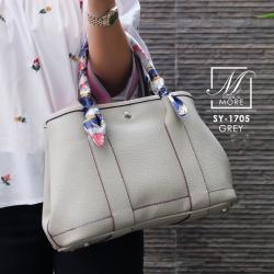 กระเป๋าสะพายกระเป๋าถือ แฟชั่นฮ็อตฮิตและอินเทรนด์ตลอดกาล SY-1705-GRY (สีเทา)