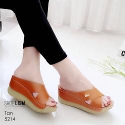 งานสวยรองเท้าเตารีดสีแทน ที่นิ่มสุดใน3 โลก LB-5214-แทน