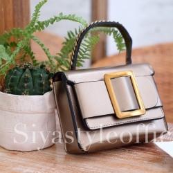 กระเป๋าสะพายแฟชั่น กระเป๋าสะพายข้างผู้หญิง BOYY Mini [สีทอง]