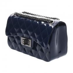 กระเป๋าสะพายแฟชั่น กระเป๋าสะพายข้างผู้หญิง Mini Toy Classic [สีกรม]