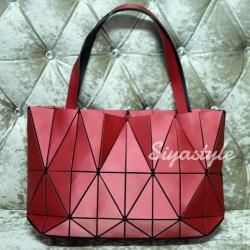 กระเป๋าสะพายแฟชั่น กระเป๋าสะพายข้างผู้หญิง Baobao crystal [สีแดง]