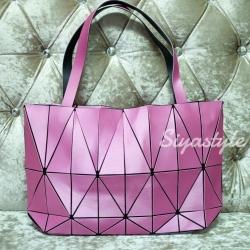 กระเป๋าสะพายแฟชั่น กระเป๋าสะพายข้างผู้หญิง Baobao crystal [สีโรส]
