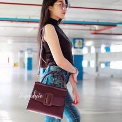กระเป๋าสะพายข้าง กระเป๋าถือ Big BOYY [สีแดง]