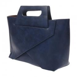 กระเป๋าสะพายแฟชั่น กระเป๋าสะพายข้างผู้หญิง New Design [สีกรม]