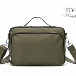 พร้อมส่ง กระเป๋าสะพาย Crossbody -1034 [สีเขียว]