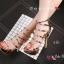พร้อมส่ง รองเท้าส้นสูง วัสดุหนังแววเงา 17-1283-PKG [สีนาค] thumbnail 3