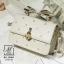 กระเป๋าสะพายกระเป๋าถือ แฟชั่นนำเข้าแบรนด์ axixi แต่งมุก AX-12461-CRM (สีครีม) thumbnail 1