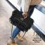 กระเป๋าสะพายกระเป๋าถือ ครัชแฟชั่นงานนำเข้าสไตล์แบรนด์ดังสุดหรู MB18-01207-BLK [สีดำ] thumbnail 3