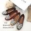 รองเท้าส้นแบนวัสดุหนังกลับ Style Brand Kenzo TG-264-เทา (สีเทา) thumbnail 3