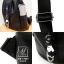 กระเป๋าสะพายเป้กระเป๋าถือ เป้แฟชั่นนำเข้าแพทเทินเรียบดูคลาสสิค MB-17067-BLK (สีดำ) thumbnail 3