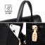 กระเป๋าสะพายเป้กระเป๋าถือ เป้แฟชั่นนำเข้าดีไซน์เรียบเก๋ส์ B-21081-PNK (สีชมพู) thumbnail 3