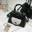 กระเป๋าสะพายกระเป๋าถือ นำเข้างานสวยเก๋ส์ แบรนด์ axixi AXI-A12385-BLK (สีดำ) thumbnail 4