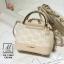 กระเป๋าสะพายกระเป๋าถือ แฟชั่นนำเข้าสไตล์คุณหนู แบรนด์ axixi แท้ AX-12443-CRM (สีครีม) thumbnail 4