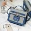 กระเป๋าสะพายกระเป๋าถือ แฟชั่นนำเข้างานสุด cute แบรนด์ axixi AXI-A12402-BLU (สีน้ำเงิน) thumbnail 1