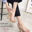 รองเท้าแตะส้นสูงแบบสวมไขว้ 3006-5-ชมพู (สีชมพู) thumbnail 2