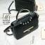 กระเป๋าสะพายกระเป๋าถือ แฟชั่นนำเข้าสไตล์คุณหนู AX-12343-BLK (สีดำ) thumbnail 2