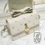 กระเป๋าสะพายกระเป๋าถือ แฟชั่นนำเข้าแบรนด์ axixi แต่งมุก AX-12461-CRM (สีครีม) thumbnail 4