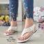 รองเท้าแตะลำลองรัดส้นสีขาว 992-31-ขาว thumbnail 1