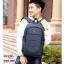แบบมาใหม่ กระเป๋าเป้ผู้ชาย ดีไซน์สุดเท่ห์ BAG-068-น้ำเงิน (สีน้ำเงิน) thumbnail 2