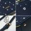 กระเป๋าสะพายกระเป๋าถือ แฟชั่นนำเข้าทรง box สไตล์คุณหนู AX-12364-BLU (สีน้ำเงิน) thumbnail 3