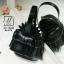 กระเป๋าสะพายกระเป๋าถือ แฟชั่นนำเข้าสไตล์แบรนด์ดังงานสุดพรีเมี่ยม AX-12400-BLK (สีดำ) thumbnail 3