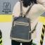 กระเป๋าเป้แฟชั่นงานนำเข้าทรงสุดฮิต สไตล์สุดฮิป MB18-01804-GRY (สีเทา) thumbnail 3