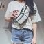 กระเป๋าคาดอก หรือคาดเอวดีไซน์สุดเท่ห์ BAG-075-ขาว (สีขาว) thumbnail 4